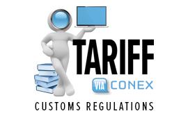 CUSTOMS TARIFF - Conex Systems Ltd